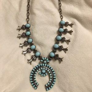 +Turquoise Najavo necklace+